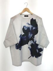 Tシャツ/アートフラワー/FREE/ポリエステル/グレー/HA020131TR