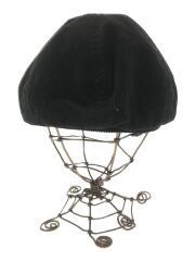 French Corduroy Beret/ベレー帽/ブラック/RC-7126CAS/17A-KR-001