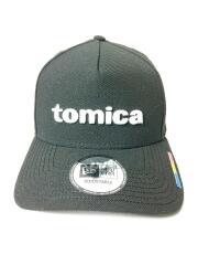×TOMIKA/キャップ/FREE/ウール/ブラック