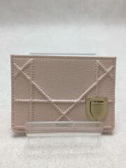 カードケース/レザー/PNK