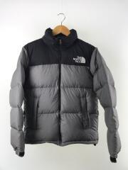Nuptse Jacket/ヌプシジャケット/ND91842/ダウンジャケット/M/ポリエステル/GRY