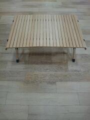 HCA0191 テーブル/HCA0191/ウッドロールトップテーブル2/収納袋無し