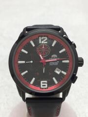 クォーツ腕時計/アナログ/レザー/BLK/2011/LIMITED/EDITION/TT0Z-D1-B/中