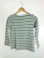 長袖Tシャツ/O/コットン/GRN