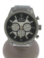 クォーツ腕時計/アナログ/ステンレス/T6479/中古