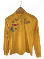 ポロシャツ/タグ付/長袖/セサミストリート/40/コットン/YLW/24670-203