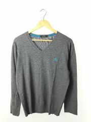 セーター(薄手)/3/ウール/GRY