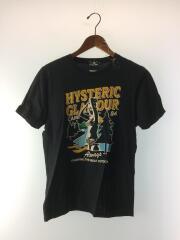 Tシャツ/M/コットン/BLK/0261ct09