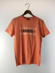 Tシャツ/S/コットン/PNK/無地