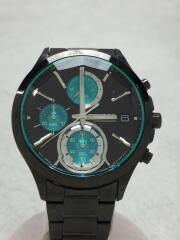 vr33-0aa0/クォーツ腕時計/アナログ/--/ブラック