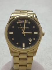 MK-6070/クォーツ腕時計/アナログ/ステンレス/ブラック/ゴールド