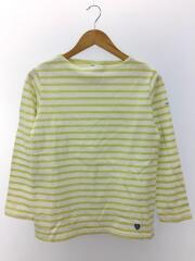 長袖Tシャツ/2/コットン/WHT/ボーダー