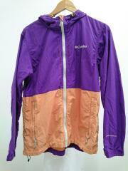 コロンビア/PL3974/ヘイゼンジャケット/ナイロンジャケット/L/パープル/紫