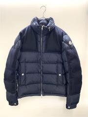 ダウンジャケット/2/ポリエステル/NVY/ARCS/アークス/41810/袖ワッペン