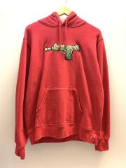 19SS/Toy Uzi Hooded Sweatshirt/パーカー/M/コットン/RED