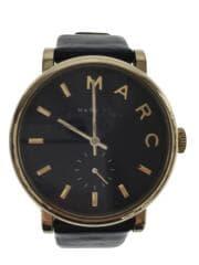 クォーツ腕時計/アナログ/レザー/ブラック/MBM1269