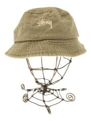 Washed Bucket Hat/ハット/コットン/グリーン