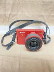 デジタル一眼カメラ Nikon 1 J1 標準ズームレンズキット [レッド]