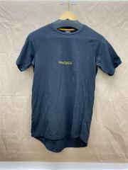 Tシャツ/S/コットン/ブラック