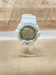 クォーツ腕時計・G-SHOCK/デジタル/ラバー/ホワイト