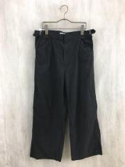 FINX HARD TWIST GABARDINE PANTS/A20SP02FB/ボトム/3/コットン/BLK
