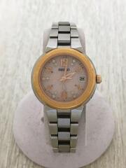 1B22-0BD0/ソーラー腕時計/アナログ/--/PNK/SLV