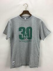 Tシャツ/M/コットン/GRY