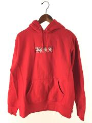 パーカー/S/コットン/RED/プルオーバー Bandana Box Logo Hooded Sweatshirt バンダナボックスロゴ