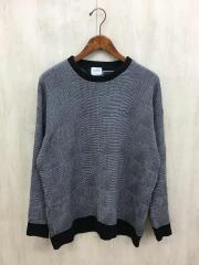 107430001/セーター(薄手)/1/ウール/GRY