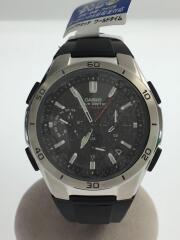 5174/ソーラー腕時計/デジアナ/ステンレス/NVY/SLV