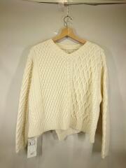 セーター(厚手)/S/ウール/アイボリー/11-02-95-02302