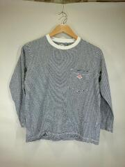 18年製/長袖Tシャツ/コットン/ボーダー/18S-HS-003/JD-9077