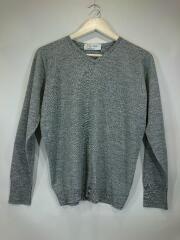 セーター(薄手)/S/ウール/グレー/CA09735