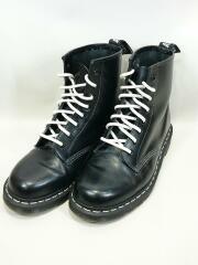 ブーツ/8ホール/UK7/シューレースホワイト/ブラック/1460