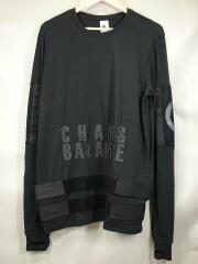 19SS/長袖Tシャツ/S/ポリエステル/ブラック/SU190902SAA