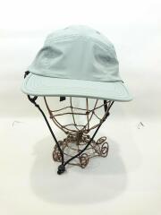2020ss/Tech 5Panel Cap with Strap/Free/ポリエステル/コースターグレー