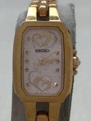 クォーツ腕時計/アナログ/--/PNK/1N01-0PD0/ティセ/ハート/セイコー/