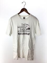 Tシャツ/S/コットン/WHT/18SS/Metallic Logo T-Shirt/