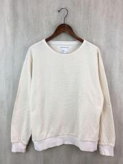Sport Knit長袖Tシャツ/E-14584/L/コットン/CRM/無地