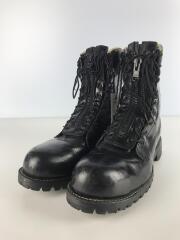 ブーツ/US9.5/BLK/レザー/27422