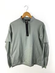 ZIP UP TEE L/S/長袖Tシャツ/1/コットン/pv185-j02