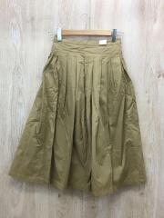 スカート/0/コットン/BEG/ベージュ