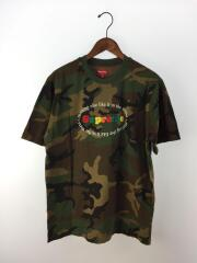 Tシャツ/M/コットン/グリーン/カモフラ/20SS/Nothing Else S/S Top/ワッペン