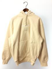 2020AW/cross box logo hooded sweatshirt/パーカー/L/CRM/20AW/クロス/プルオーバー クロスボックスロゴ