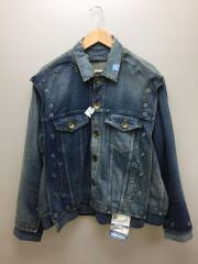 20SS/Removable Denim Blouson/A04BL023-1/Gジャン/46/デニム/IDG