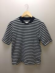 Tシャツ/1/コットン/ボーダー/18-01656M