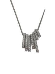 ネックレス/--/ダイヤモンド/SLV/トップ有/0.010カラット