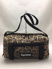 20FW/Mini Duffle Bag/ポリエステル/BLK/leopard