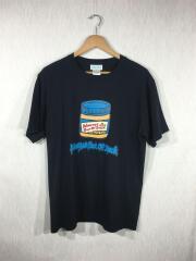 ピーナッツバター/Tシャツ/M/コットン/BLK
