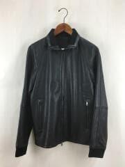 レザージャケット・ブルゾン/S/羊革/ブラック/02-0360001/20AW
